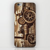 jem iPhone & iPod Skins featuring Jem General Purpose Engine in sepia by Avril Harris