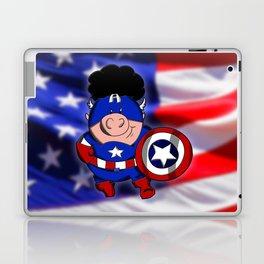 Cap'n 'Murica Laptop & iPad Skin