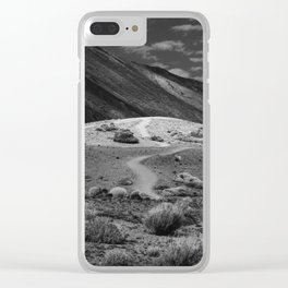 Road Takes Places Clear iPhone Case