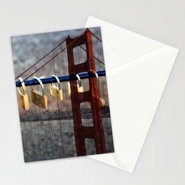 LOVE LOCKED - GOLDEN GATE BRIDGE Stationery Cards