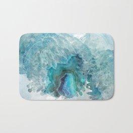Blue Aqua Agate Bath Mat