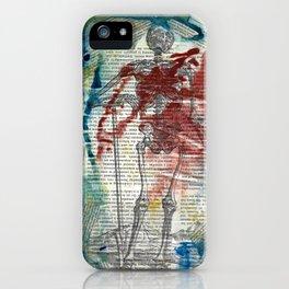 Vesalius Grave digger iPhone Case