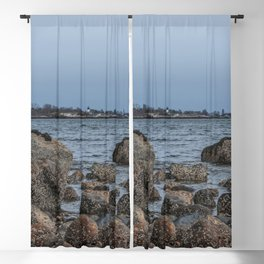 Ocean's edge Blackout Curtain