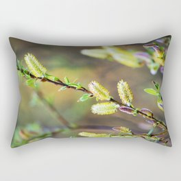 Pussy Willows Rectangular Pillow