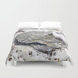 STONES SNOW NUGGET Duvet Cover