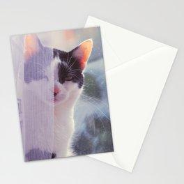hazy mornings Stationery Cards