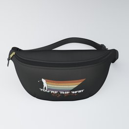 You're The Best By Par Golfer Dad Golf Player Fanny Pack