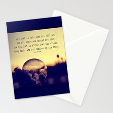 Tolkien Bubble at Sunrise Stationery Cards
