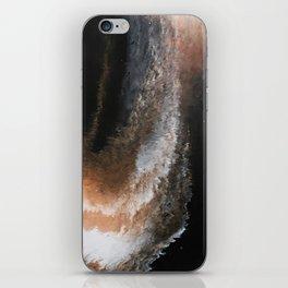 Copper Whirlwind iPhone Skin