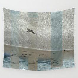Geometric Sea Birds Wall Tapestry