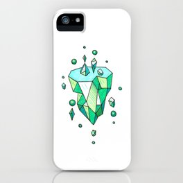 Little Emerald World iPhone Case
