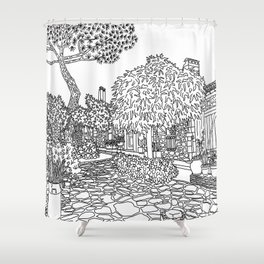 Snapshot in Collioure, France Shower Curtain
