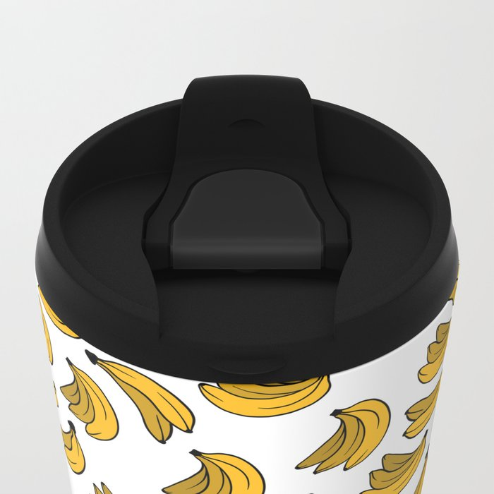 Banana 02 Metal Travel Mug