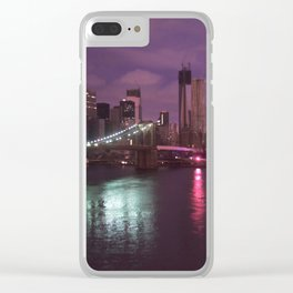 After Sandy II Clear iPhone Case