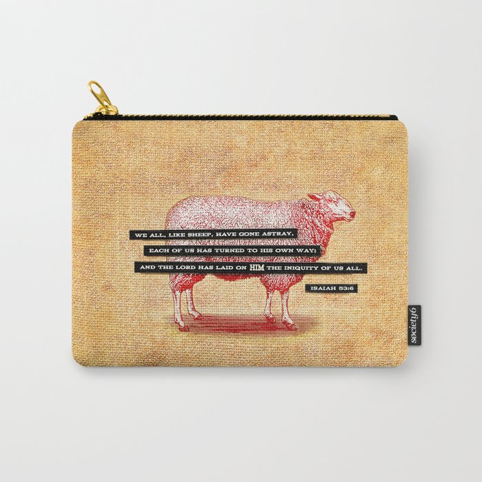 Like Sheep Carry-All Pouch