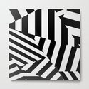 RADAR/ASDIC Black and White Graphic Dazzle Camouflage by kristiangoddard
