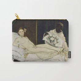 Olympia, Edouard Manet, 1863 Carry-All Pouch