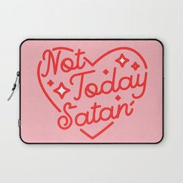 not today satan II Laptop Sleeve