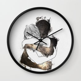 I would keep you forever (GOLD). Wall Clock
