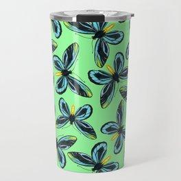 Queen Alexandra' s birdwing butterfly pattern Travel Mug