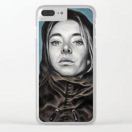 Church Girl Clear iPhone Case