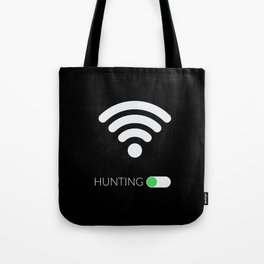 Wifi Hunting Tote Bag