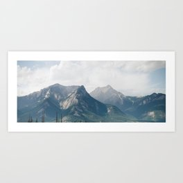 Lost in the Mountains Art Print