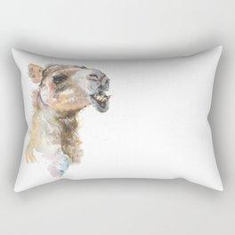Moody Camel Rectangular Pillow