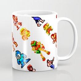 8-bit heroes (NES) | retrogaming nostalgia Coffee Mug