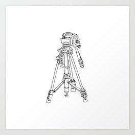 luke's tripod Art Print
