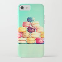 macarons iPhone & iPod Cases featuring MACARONS by Ylenia Pizzetti