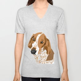 Gus Head Unisex V-Neck