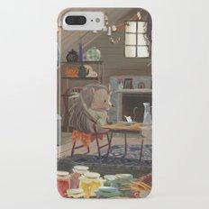 Little hedgehog iPhone 7 Plus Slim Case