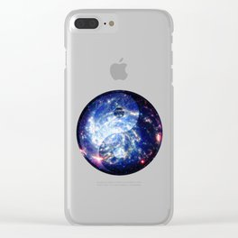 The Yin Yang Energy Swirl Clear iPhone Case