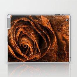 Burning Grunge Rose Laptop & iPad Skin