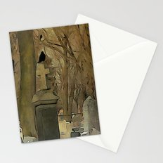 Gothic Splash Stationery Cards