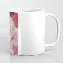 Fruit in Bowl on Table Cloth Coffee Mug