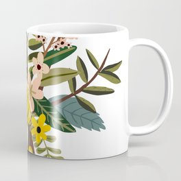 Bold Wildflower Bouquet Coffee Mug