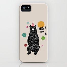 Bear Scape iPhone Case