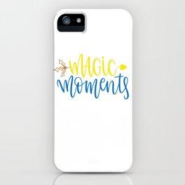 Magic moments shirt iPhone Case