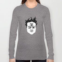 Gool Third Eye Pince Nez Long Sleeve T-shirt