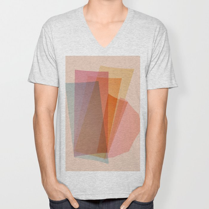 Abstraction_Spectrum Unisex V-Neck
