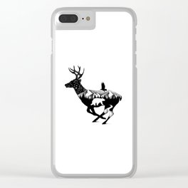IN THE DUSK Clear iPhone Case