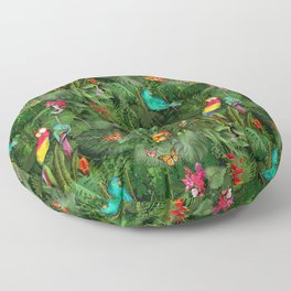 Jungle Floor Pillow