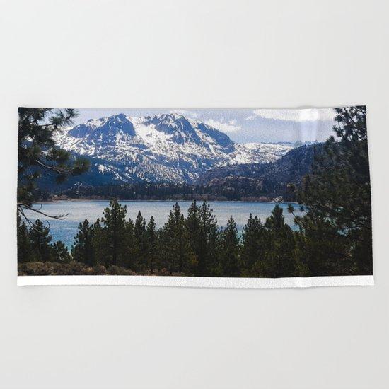 June Lake Beach Towel