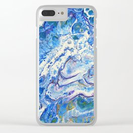 The Shallows Abstract Clear iPhone Case
