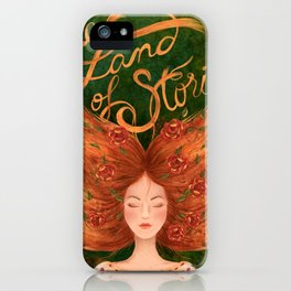 The Land of Stories iPhone Case