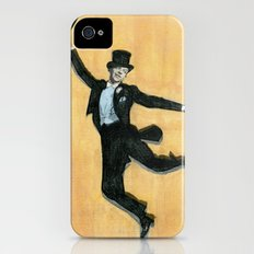 top hat and tails Slim Case iPhone (4, 4s)