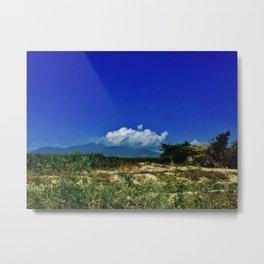 Dominican Landscape Metal Print