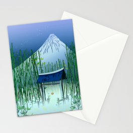 A moonless night Stationery Cards